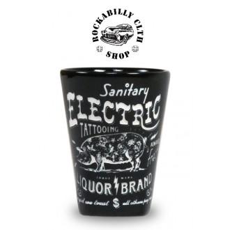 LIQUOR BRAND - Keramický panák Liquor Brand Electrig Pig