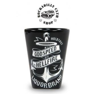 LIQUOR BRAND - Keramický panák Liquor Brand Anchor