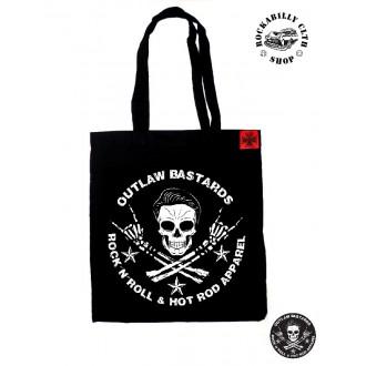 OUTLAW BASTARDS - Taška Outlaw Bastards Skull