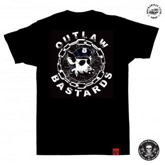 OUTLAW BASTARDS - Tričko pánské Outlaw Bastards Pigface