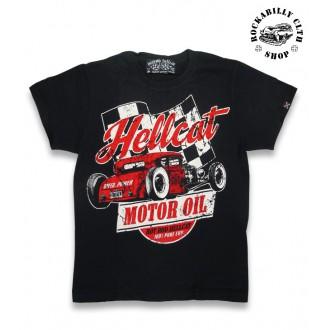 HOTROD HELLCAT - Dětské tričko Hotrod Hellcat Motor Oil