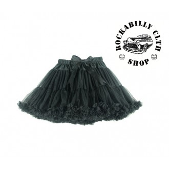 HOLKY / GIRLS - Spodnička retro rockabilly pin-up Tutu Swing Skirt Black