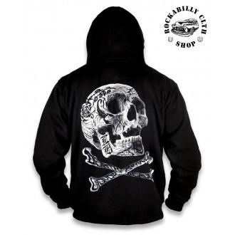 KLUCI / BOYS - Pánská mikina Liquor Brand Death Dealer