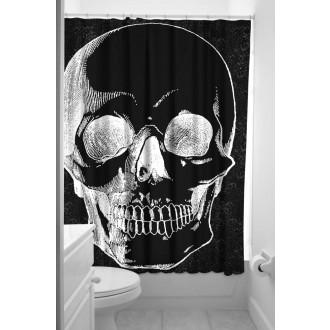 DOPLŇKY / ACCESSORIES - Koupelnový závěs Sourpuss Shower Curtain Anatomical Skull