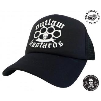 OUTLAW BASTARDS - Kšiltovka Truckerka Outlaw Bastards Boxer