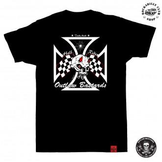 OUTLAW BASTARDS - Tričko pánské Outlaw Bastards Hell Rider
