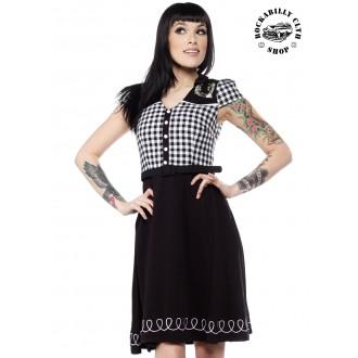 SOURPUSS - Šaty Sourpuss Clothing Lucky Line Dance Dress