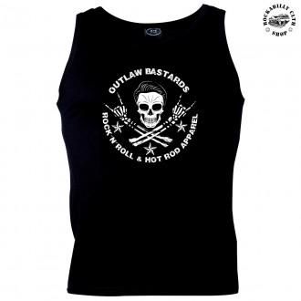 KLUCI / BOYS - Pánské tílko Outlaw Bastards Skull