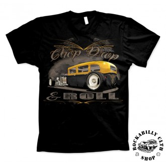 AMERICAN HOTRODS - Tričko pánské American Hotrods Chop, Chop & Roll