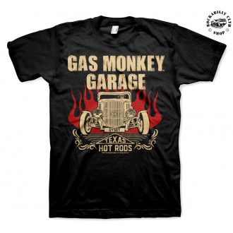 GAS MONKEY GARAGE - Pánské tričko Gas Monkey Garage Speeding Monkey