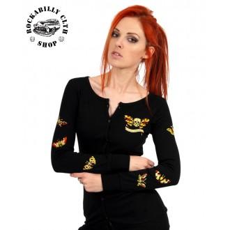 HOLKY / GIRLS - Svetr Cardigan Dámský Liquor Brand Gypsy Moth