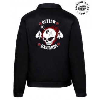 KLUCI / BOYS - Pánská bunda Outlaw Bastards Gear Head Jacket