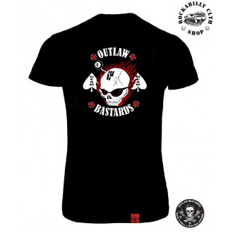 OUTLAW BASTARDS - Tričko Dámské Outlaw Bastards Gear Head