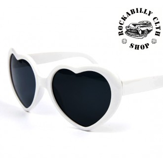 DOPLŇKY / ACCESSORIES - Dámské sluneční brýle Rocka Sweetheart Wht