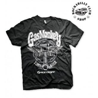 GAS MONKEY GARAGE - Pánské tričko Gas Monkey Garage Big Piston