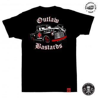 OUTLAW BASTARDS - Tričko pánské Outlaw Bastards Demon