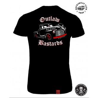 OUTLAW BASTARDS - Tričko Dámské Outlaw Bastards Demon