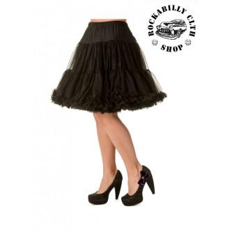 HOLKY / GIRLS - Spodnička dámská retro rockabilly pin-up Banned Walkabout Petticoat Black