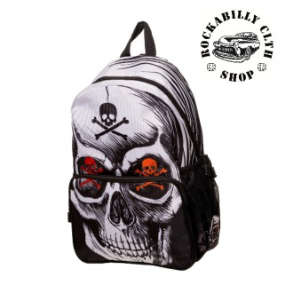 BANNED APPAREL - Batoh Banned Toxic Skull