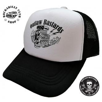 OUTLAW BASTARDS - Kšiltovka Outlaw Bastards trucker Fullpower