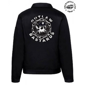 KLUCI / BOYS - Pánská bunda Outlaw Bastards Pigface Jacket