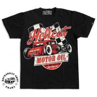 HOTROD HELLCAT - Pánské tričko Hotrod Hellcat Motor Oil