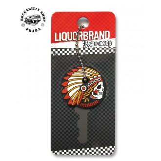 LIQUOR BRAND - Přívěsek /obal na klíče Liquor Brand Chieftain
