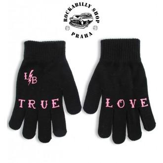 LIQUOR BRAND - Zimní rukavice Liguor Brand True Love
