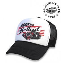 Kšiltovka Truckerka Hotrod Hellcat Lager