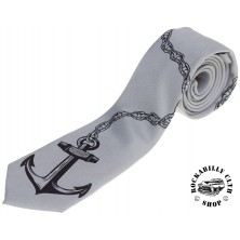 Kravata Kustom Kreeps Anchor Tie