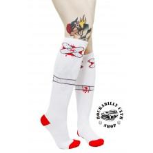 Podkolenky Sourpuss Clothing Ouch Socks