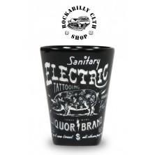 Keramický panák Liquor Brand Electrig Pig