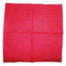 Šátek Rocka Dot Red/Wht