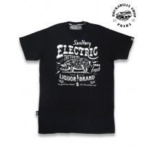 Tričko Pánské Liquor Brand Electric Pig