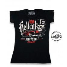 Dámské Tričko Hotrod Hellcat Kustom