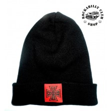 Kulich čepice Outlaw Bastards Beanie Cross Black
