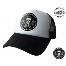 Kšiltovka Truckerka Outlaw Bastards Skull