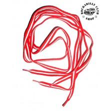 Tkaničky do bot Rocka Red / Wht Line