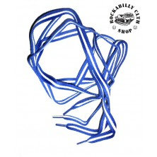 Tkaničky do bot Rocka Blue / Wht Line