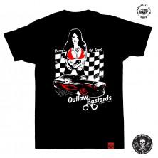 Tričko pánské Outlaw Bastards Queen Of Speed
