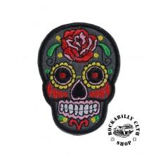 Nášivka Rocka Skull Black