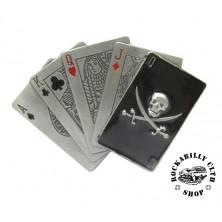 Přezka na pásek Rocka Pirate Cards Buckle