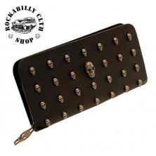 Peněženka Rocka Skulls Wallet Big