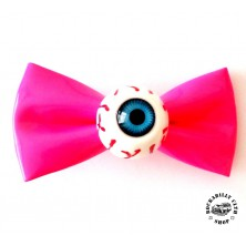 Sponka do vlasů horror Rocka Hairclip Eyeball Pink