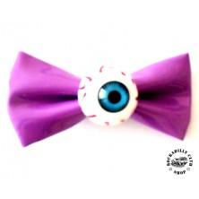 Sponka do vlasů Rocka Hairclip Eyeball Purple