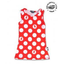 Šatičky dětské SIx Bunnies Polka Dots Red