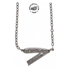 Náhrdelník Sourpuss Clothing Necklace Straight Razor