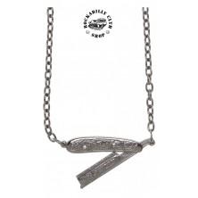 Náhrdelník Sourpuss Clothing Necklace Straight Razor