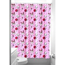 Koupelnový závěs Sourpuss Shower Curtain Bunny Zombie
