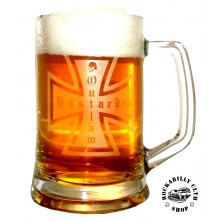 Pivní sklenice Outlaw Bastards Beer Glass Cross